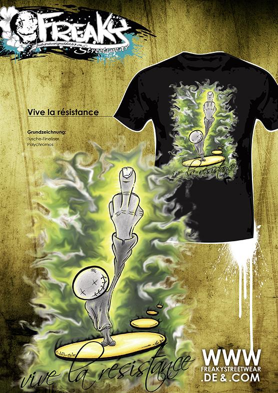 thomas_wiesen_ti-dablju-styles_freakystreetwear_vive_la_resistance_green