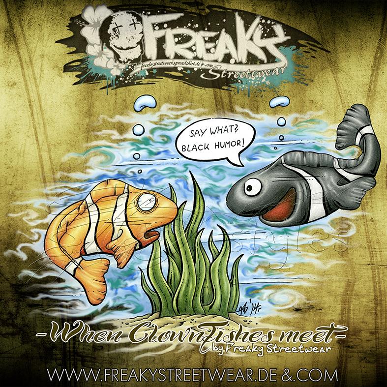 ti-dablju-styles_thomas_wiesen_freaky_streetwear_shirtmotiv_clownfische
