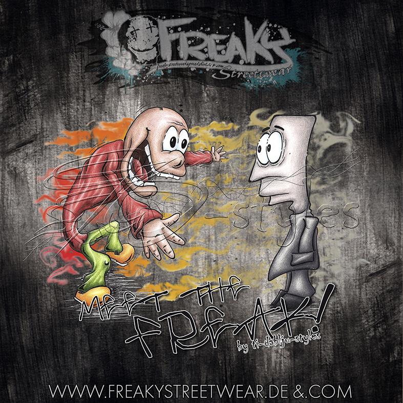 ti-dablju-styles_thomas_wiesen_freaky_streetwear_shirtmotiv_meet_the_freak